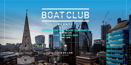 Boat Club Marathon Day Rooftop Party tickets