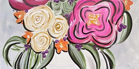 Lovely Blooms Saturday afternoon Paint Party tickets