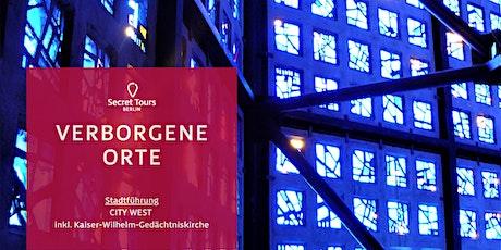 FÜHRUNG City West inkl. Verborgene Orte der Kaiser-Wilhelm-Gedächtniskirche Tickets