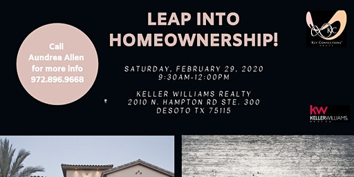 LEAP Into Homeownership in 2020!!