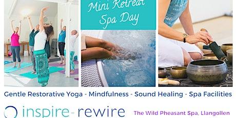 Mini Spa/ Yoga Retreat - Llangollen tickets