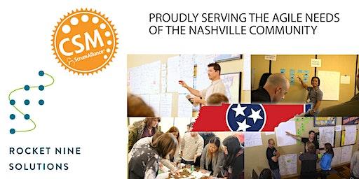 Nashville Late March Certified Scrum Master Training (CSM)