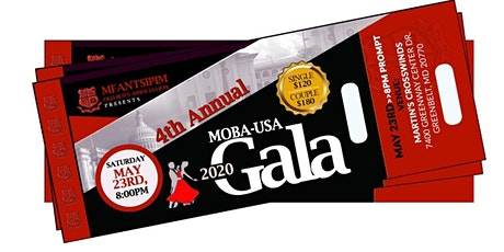 MOBA-USA 4th Annual Gala & Fundraiser- MAY 29 TH, 2021 tickets