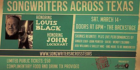 Honoring Louis Black and John Lockhart tickets