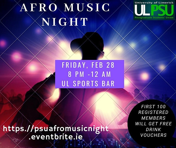 Afro Music Night image
