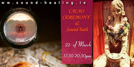 Cacao Ceremony and Sound bath tickets