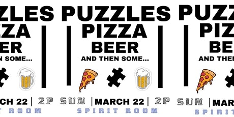 Spirit Room presents: Puzzles, Pizza, Beer, & then some... tickets
