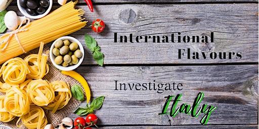 Investigate Italy ~ April 21