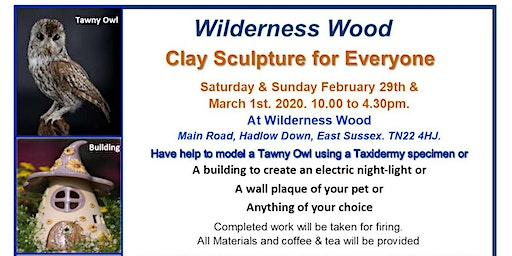 Two Day Clay Sculpture Course