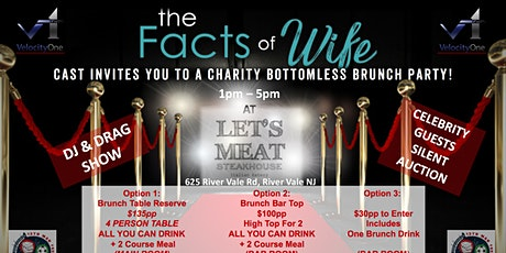FACTS OF WIFE Charity Bottomless Brunch Party tickets