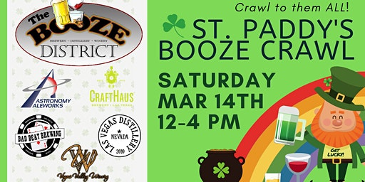 St. Paddy's Booze Crawl at the Henderson Artisan Booze District