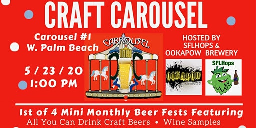 Craft Carousel Beer Festival #1 - WPB