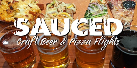SAUCED - Craft Beer & Pizza Flights tickets