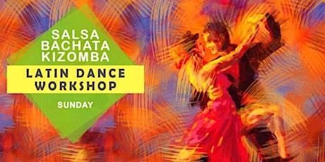 FREE SALSA KIZOMBA and Bachata Workshop At HSR tickets