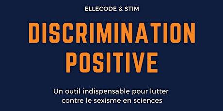 Discrimination positive, sexisme et sciences tickets