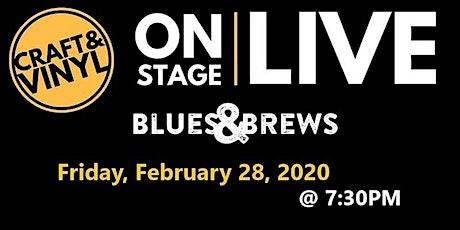 Blues & Brews at Craft & Vinyl tickets