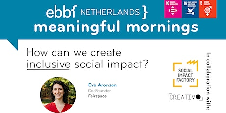 How can we create inclusive social impact? tickets