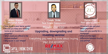 Movin' on Up: Upgrading, downgrading and property investment seminar tickets