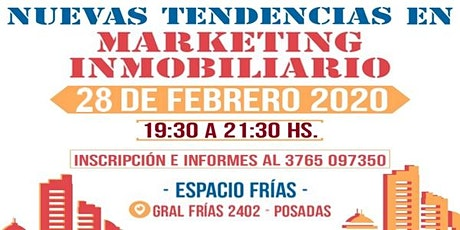MARKETING INMOBILIARIO - Taller Intensivo entradas