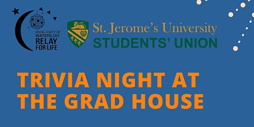 Upper Year Trivia Night at the Grad House!