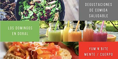 Degustación y Clase de comida Vegana, Vegetariana y Cruda (Raw) tickets