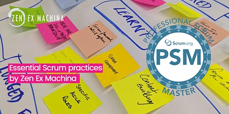 VIRTUAL LIVE CLASS: Professional Scrum Master Certification (PSM I) course with Scrum.Org tickets