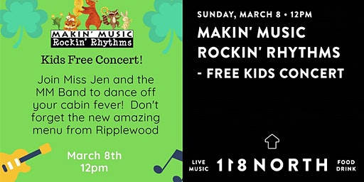 Makin' Music  Rockin' Rhythms - Free Kids Concert