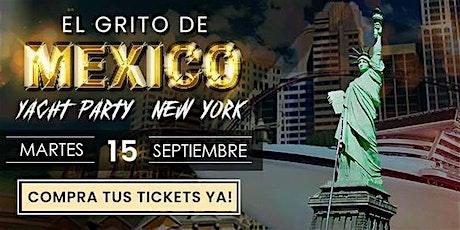 El Grito Mexicano en el Hudson, Noche Méxicana a Bordo tickets