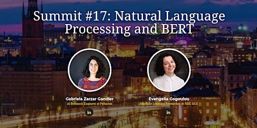 Stockholm AI Summit #17 | Natural Language Processing and BERT