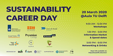 Sustainability Career Day 2020 Sign-Up Form | Friday, 20 March 2020 tickets