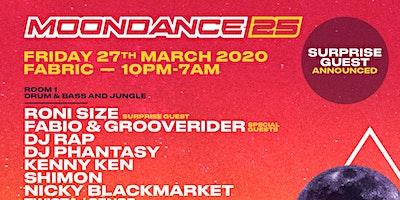 Moondance 25 Poster