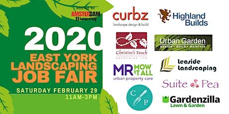 2020 Toronto East York Landscaping Job Fair tickets