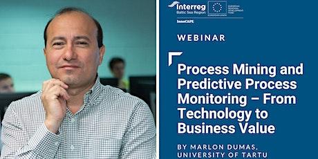Webinar: Process Mining and Predictive Process Monitoring tickets