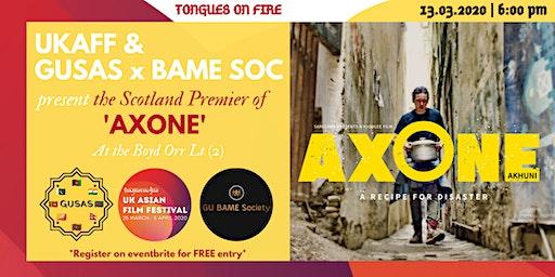 UK Asian Film Festival - AXONE