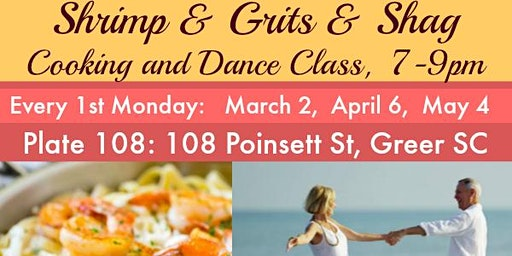 Shrimp n Grits & Shag - Cooking and Dance Class
