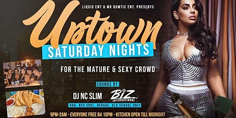 Uptown Saturday Nights at Solo's tickets