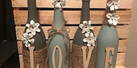 SOLD OUT - Vintage Love Wine Bottles Set tickets