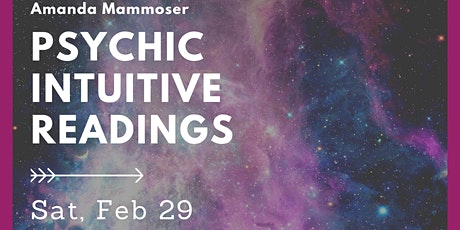 Live intuitive readings and teaching about energy work tickets