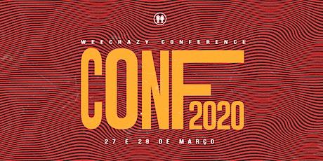 WEECRAZY CONFERENCE 2020 ingressos