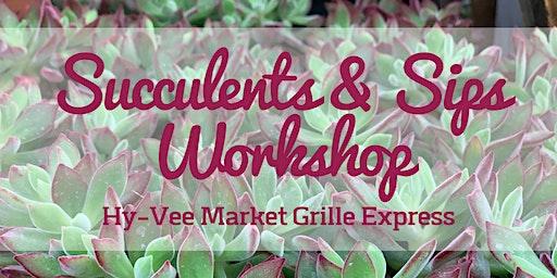 Succulent & Sips Workshop