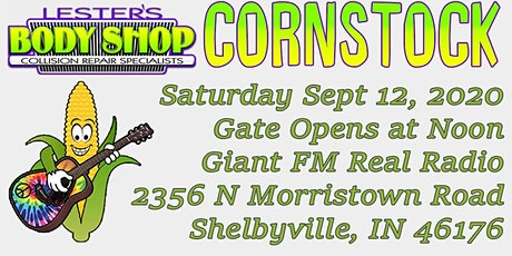 Cornstock 2020 by Lester's Body Shop tickets
