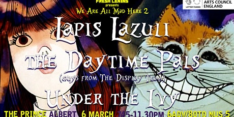 Fresh Lenins presents: Lapis Lazuli, Ellis*D, Under the Ivy tickets