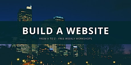 Build A Website LA - Free Online Workshop tickets