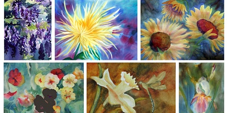 Free Art Demo - Vibrant Watercolor Flowers with April Rimpo tickets