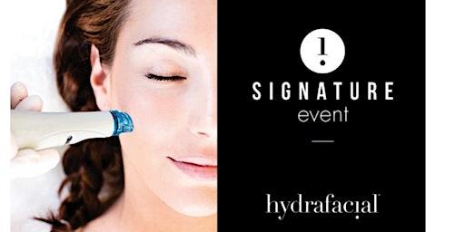Hydrafacial Glow event