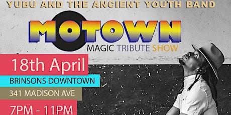 Yubu's Motown Magic Tribute Show tickets