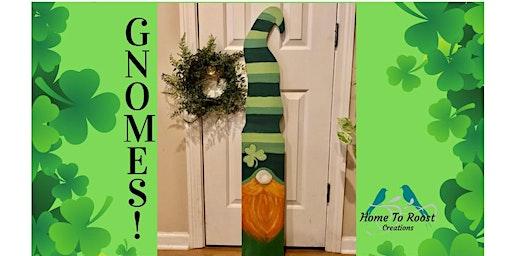 St. Patrick's Day Gnome Workshop- Memphis
