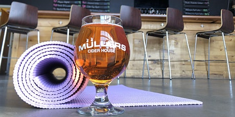 Pints and Poses! A Mullers Cider House Yoga Event tickets