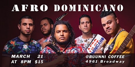 Afro Dominicano tickets