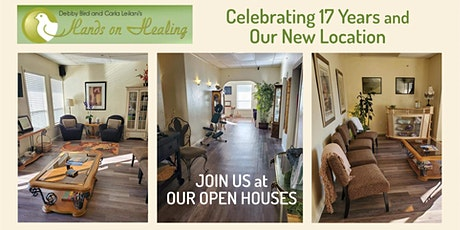 Open House Celebrating 17 Years in Business & Our New Spa Location tickets